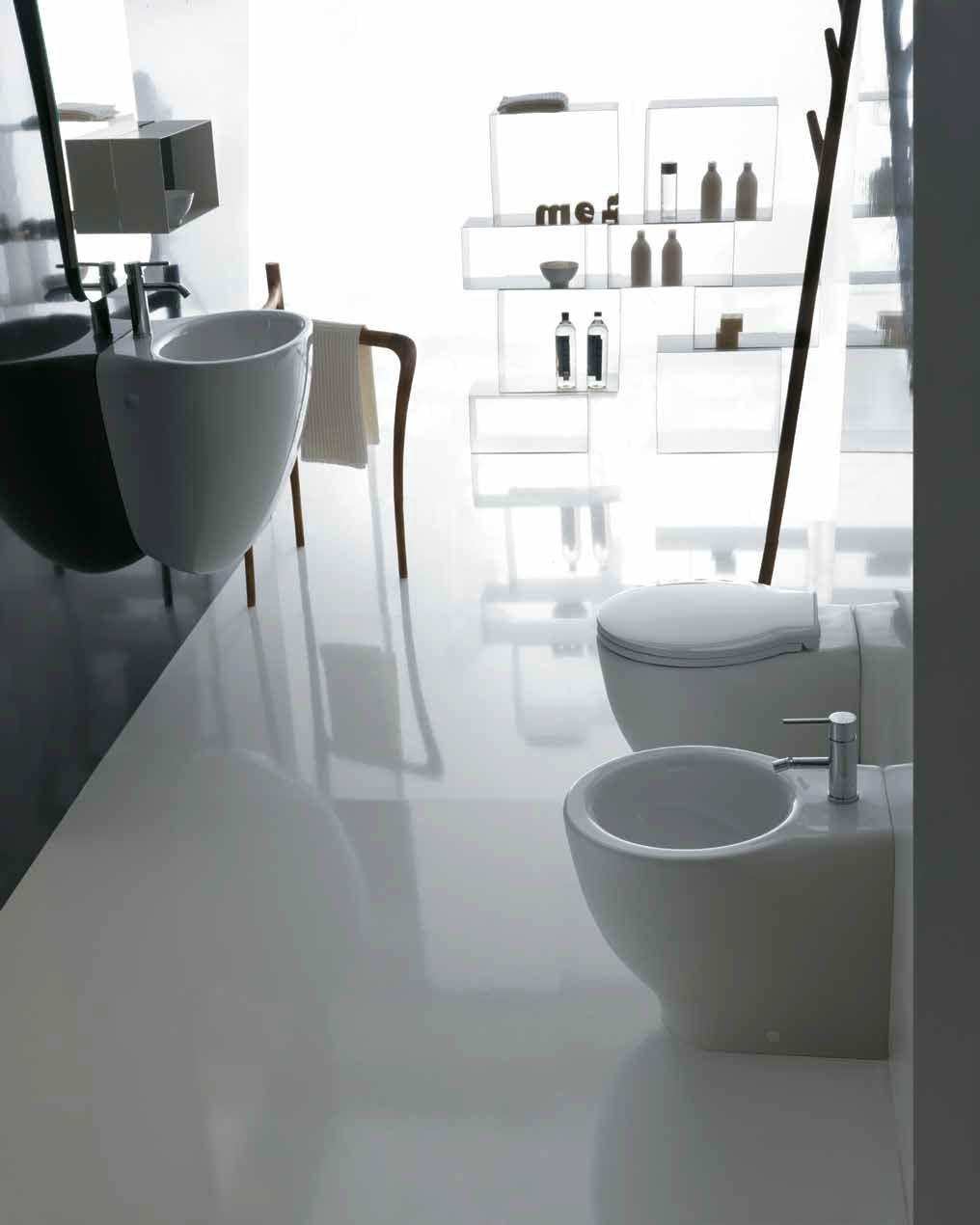 Сидение с крышкой Galassia Ergo 7115 SoftClose, белый