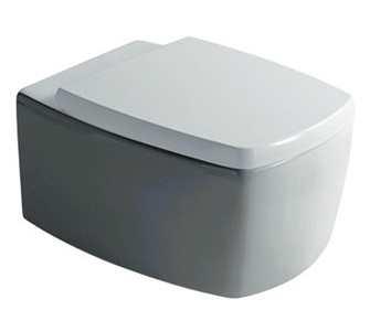 Сидение с крышкой Galassia SA02 арт. 8977 SoftClose, белый