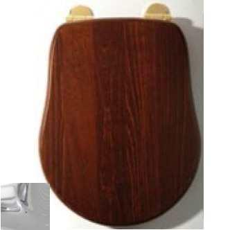 Сиденье для унитаза Migliore Bella ML.BLL-26.110.NC CR, орех/фурнитура хром