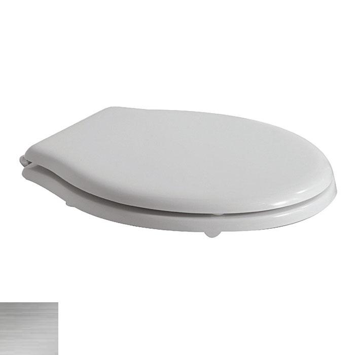 Сидение с крышкой Globo Paestum PA138bi/cr SoftClose, петли хром
