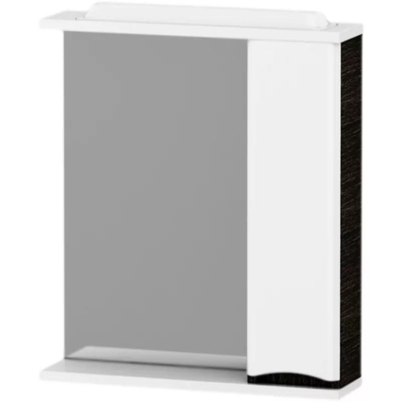 Зеркальный шкаф Am.Pm Like M80MPR0651VF/M80MPL0651VF 65см, венге, с подсветкой