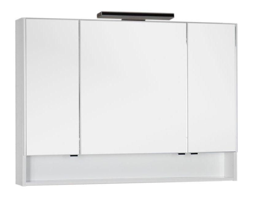 Зеркало-шкаф Aquanet Виго 120 00183400, цвет белый