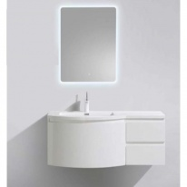 Тумба под раковину BelBagno Prospero PROSPERO-1200-3C-SO-BL-RIGHT, Bianco Laccato Lucido/правосторонняя
