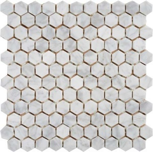 Мозаика MN152HMA Primacolore 25x25 hexagon/300х300 (11 pcs) - 0.99