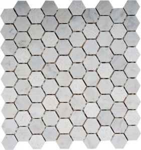 Мозаика MN152HXB Primacolore 32x32 hexagon/300х300 (11pcs) - 0.99