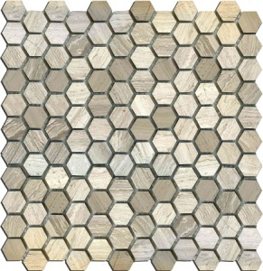 Мозаика MN160HLA Primacolore 25x25 hexagon/300х300 (11pcs) - 0.99
