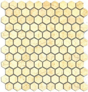 Мозаика MN184HLA Primacolore 25x25 hexagon/300х300 - 0.99