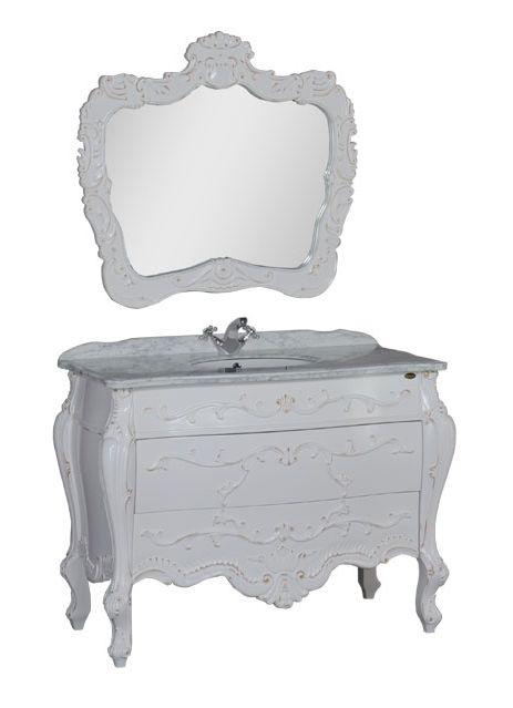 Комплект мебели Demax Афины 120 00171625, цвет белый