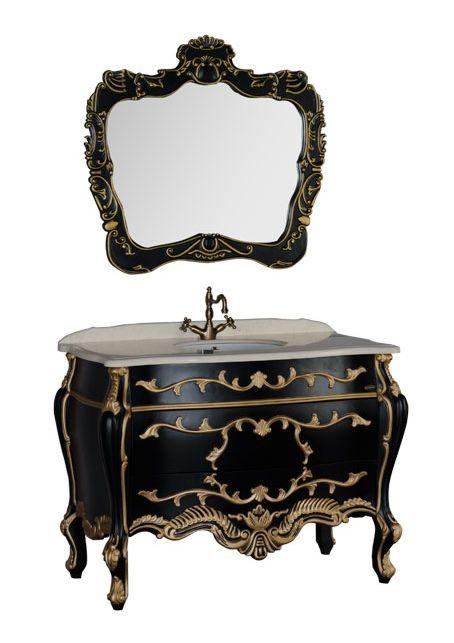 Комплект мебели Demax Афины 120 00171626, цвет черный