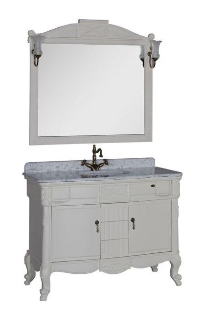 Комплект мебели Demax Луизиана 120 00173017, цвет белый (Blanco)/
