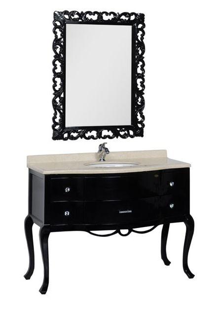 Комплект мебели Demax Престиж 115 00175661, цвет черный