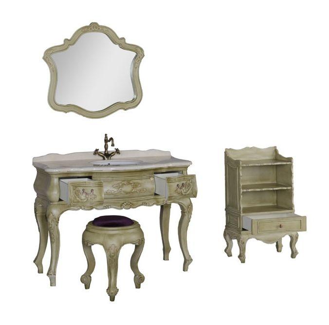 Банкетка Demax Флоренция 50 00173342 , цвет состаренный оливковый (antique amario)