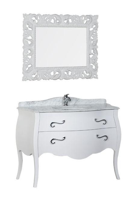 Комплект мебели Iside Calipso 120 00178569, цвет белый