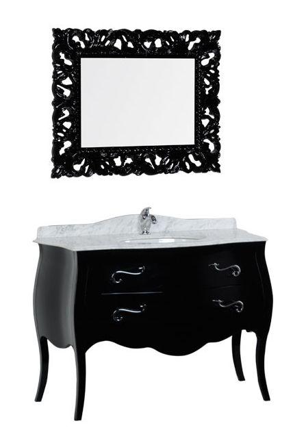 Комплект мебели Iside Calipso 120 00178570, цвет черный