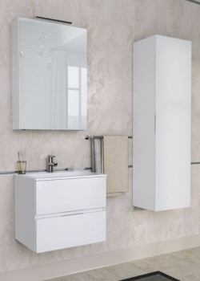Зеркало-шкаф Aquanet Алвита 60 00183989, цвет серый антрацит