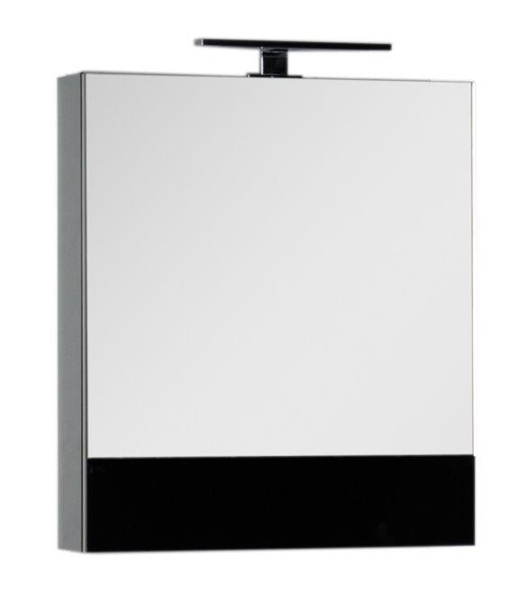 Зеркало-шкаф Aquanet Верона 58 (камерино) 00175384, цвет черный