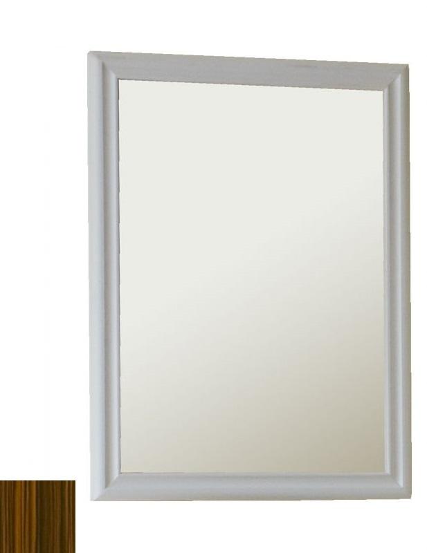 Зеркало Аллигатор АРНО 1-65, цвет зебрано, 65*80*2 см
