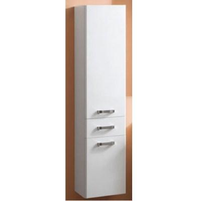 Шкаф-колонна подвесная Акватон Америна арт. 1.A135.2.03A.M01.0 белый