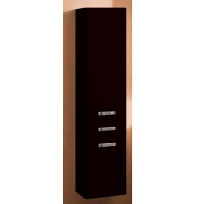 Шкаф-колонна подвесная Акватон Америна арт. 1.A135.2.03A.M95.0 чёрный