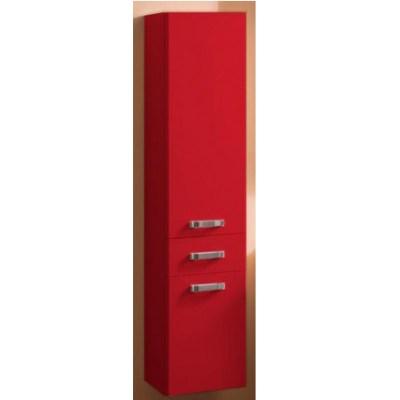 Шкаф-колонна подвесная Акватон Америна арт. 1.A135.2.03A.M94.0  бордо тёмный