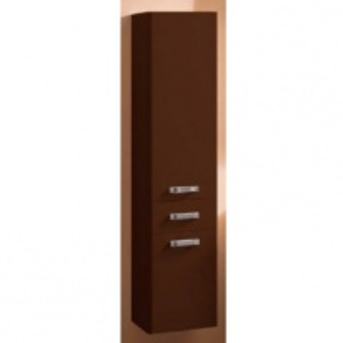 Шкаф-колонна подвесная Акватон Америна арт. 1.A135.2.03A.M43.0 тёмно-коричневый