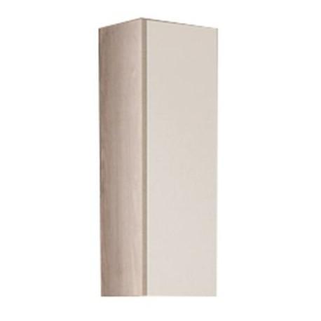 Шкаф одностворчатый Акватон Йорк, 1A171403YOAV0, белый/ясень фабрик