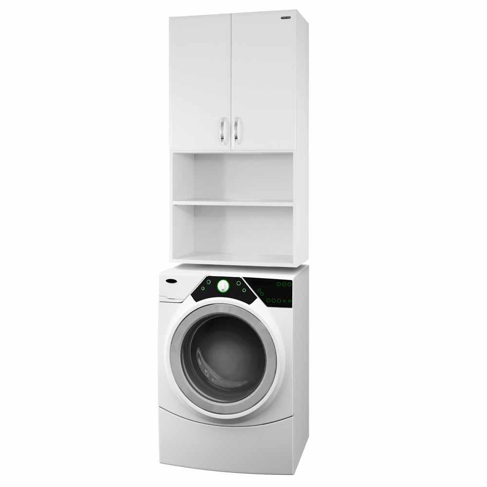 Шкаф над стиральной машиной Vod-ok 60 с нишей цвет белый