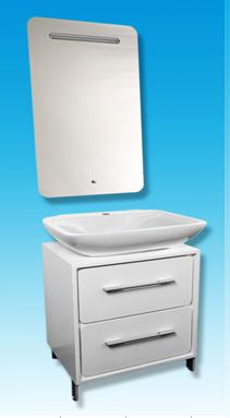 Мебель для ванной комнаты Timo (Тимо), арт. Т-14155 ,(белый)