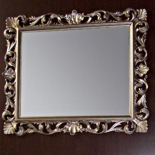 Зеркало Tiffany 332argento antico, 100*85 см, цвет Argento antico