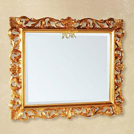 Зеркало Tiffany 332oro, 100*85 см, цвет Oro
