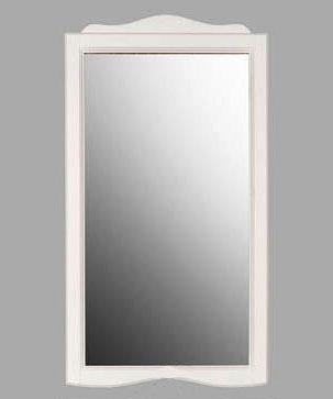 Зеркало Tiffany 363 bi puro, 63*116 см, цвет белый матовый Bianco puro