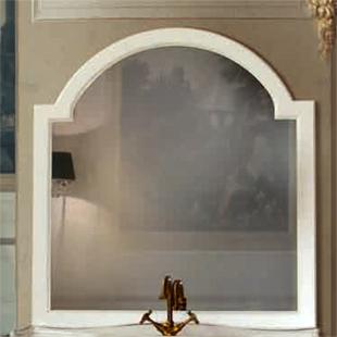 Зеркало Tiffany Victory 322bi puro, 105*115 см, цвет Bianco puro
