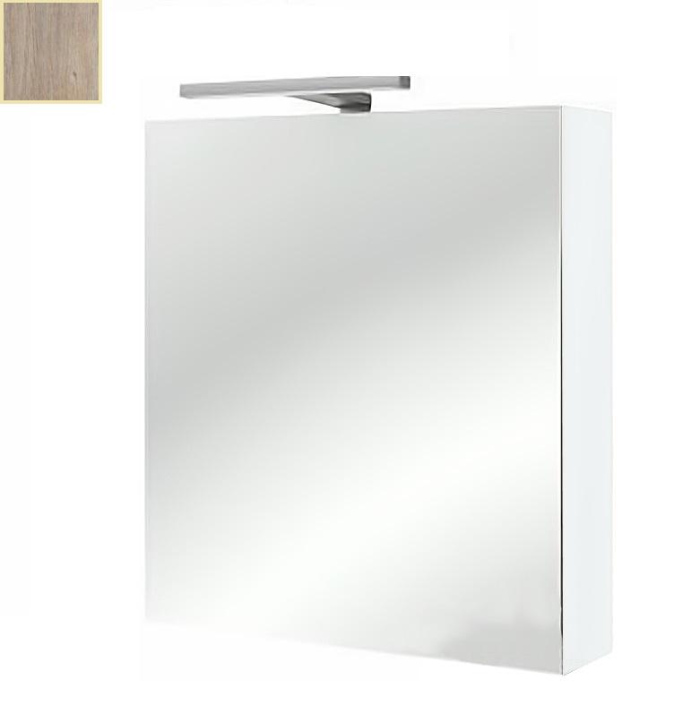 Зеркальный шкаф Jacob Delafon Rythmik EB795D-E10 цвет квебекский дуб