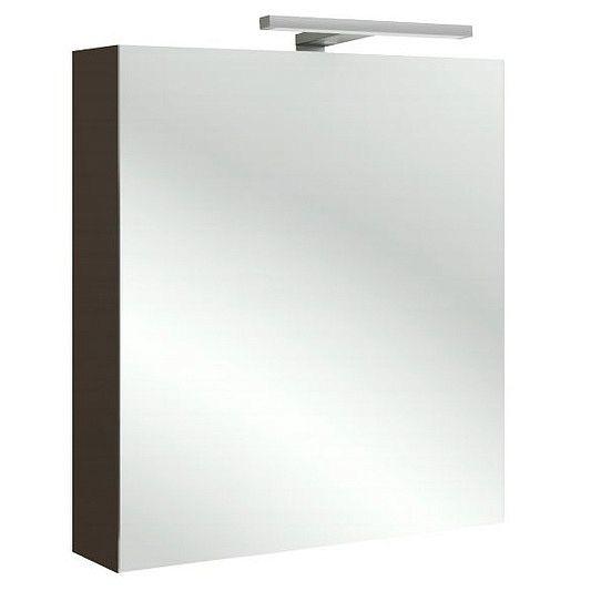 Зеркальный шкаф Jacob Delafon Rythmik EB795D-G80 цвет светло- коричневый