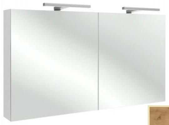 Зеркальный шкаф Jacob Delafon Rythmik арт. EB798-E70 цвет Арлингтонгский Дуб