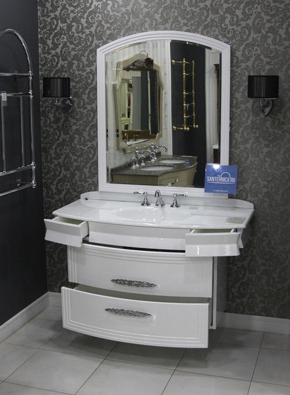 Комплект мебели Eurodesign Fashion Композиция № 2, Bianco Lucido/Белый глянцевый
