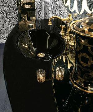 Комплект мебели Eurodesign Fashion Композиция № 3, Nero Lucido/Черный окрашеный