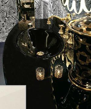 Комплект мебели Eurodesign Fashion Композиция № 3, Tortora Perlato Lucido/Тортора перламутровый глянцевый