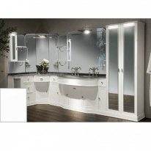 Комплект мебели Eurodesign Hermitage Композиция № 3, Bianco Lucido/Белый глянцевый