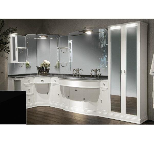 Комплект мебели Eurodesign Hermitage Композиция № 3, Nero Lucido/Черный окрашеный