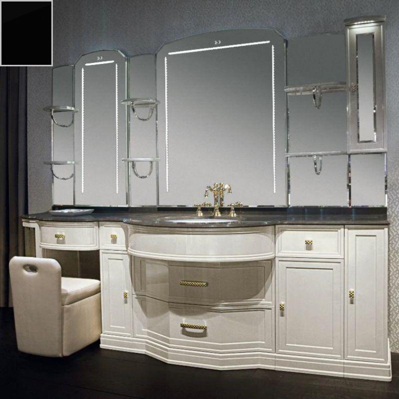 Комплект мебели Eurodesign Hermitage Композиция № 4, Nero Lucido/Черный окрашеный
