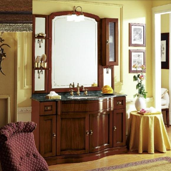Комплект мебели Eurodesign IL Borgo Композиция № 12, Noce Gold/орех с золотом