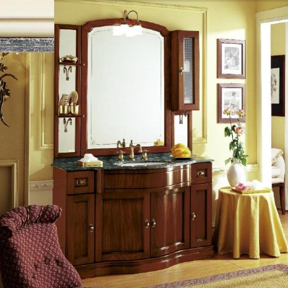 Комплект мебели Eurodesign IL Borgo Композиция № 12, Avorio silver patiano/айвори с серебром