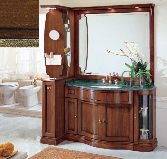 Комплект мебели Eurodesign IL Borgo Композиция № 7, Noce Gold/орех с золотом