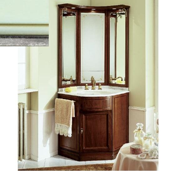 Комплект мебели Eurodesign IL Borgo Композиция № 9, Verde Acqua Silver/Верде аква с серебром