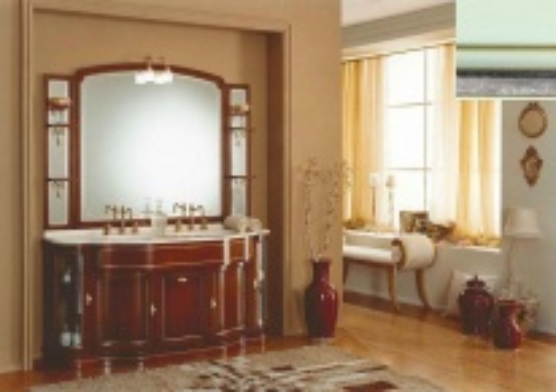Комплект мебели Eurodesign IL Borgo Композиция № 6, Verde Acqua Silver/Верде аква с серебром