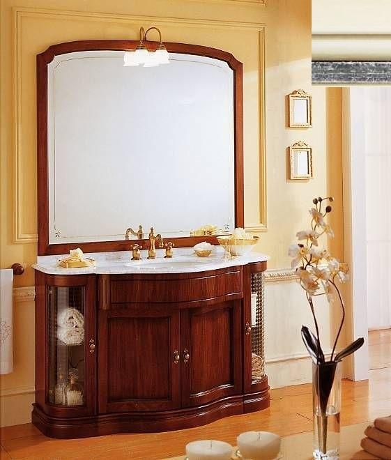 Комплект мебели Eurodesign IL Borgo Композиция № 2, Avorio silver patiano/айвори с серебром