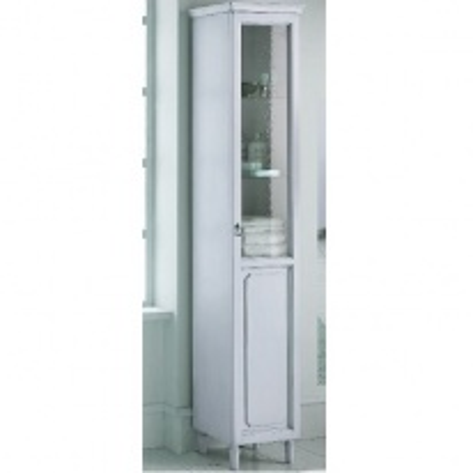 Пенал Eurodesign Luigi XVI арт. LXI-09, Bianco Satinato/белый матовый