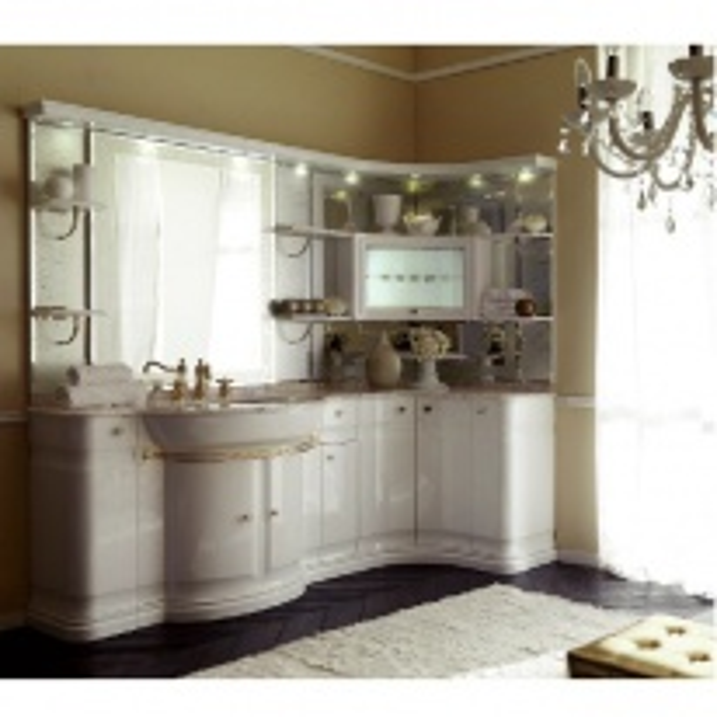 Комплект мебели Eurodesign Luxury Композиция № 2, Bianco Lucido/Белый глянцевый