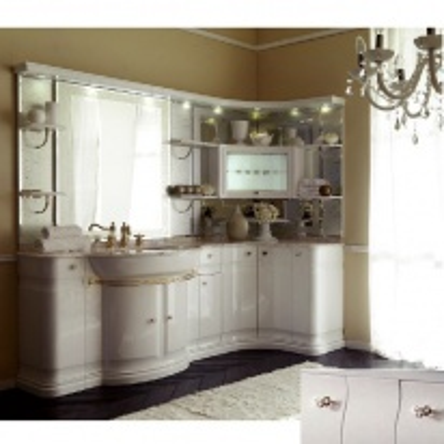 Комплект мебели Eurodesign Luxury Композиция № 2, Avorio Perlato/Аворио жемчужный